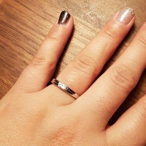 Jewelry - Cute simple wedding band ring wedding